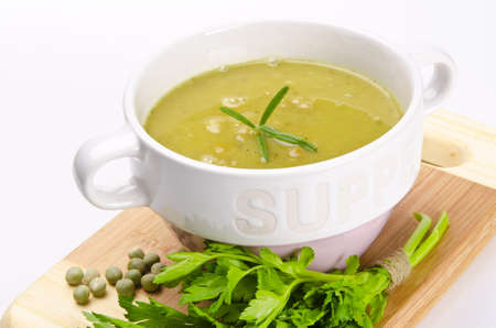 pea soup Stock Photo - 12573658