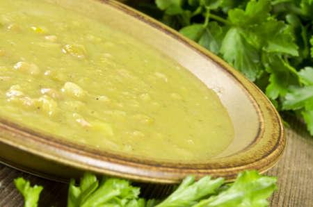 pea soup Stock Photo - 12573549
