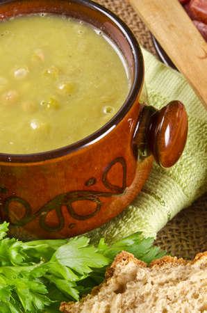 pea soup Stock Photo - 12573507