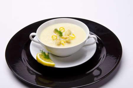 asparagus cream soup photo