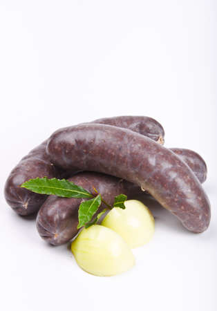 Krupniok traditional blood sausage in Polish cuisine