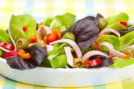 Salade de remise en forme Banque d'images