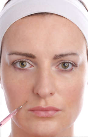 cosmetic injection Stock Photo - 12990087