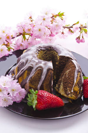 caked: spring marble cakes