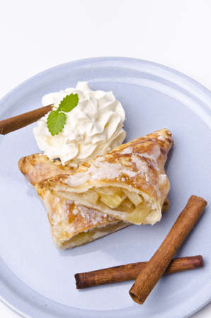 filled puff pastry photo