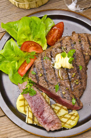 Grilled Steak  Barbecue photo