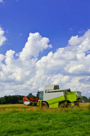 combine harvester: Cosechadora