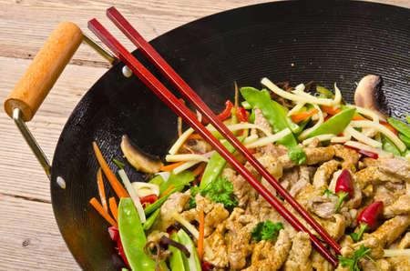 Poêle wok