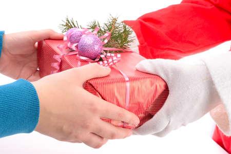 handing: handing out of presents
