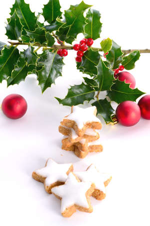 hollies: Hollies and gingerbreads Stock Photo