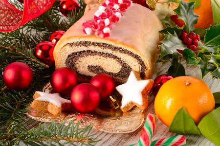 de graines de pavot gâteau Banque d'images
