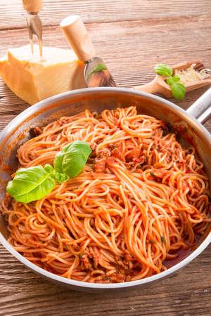 spaghetti bolognese Archivio Fotografico