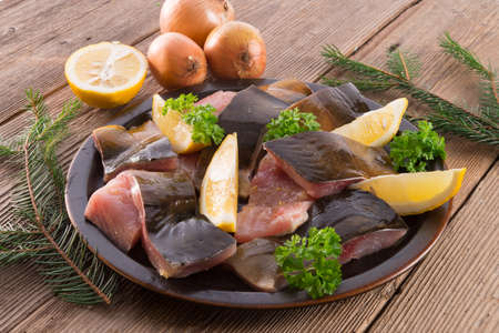 filleted carp Stock Photo - 17133616