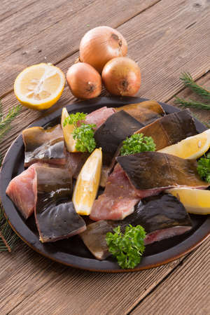 filleted carp Stock Photo - 17133615