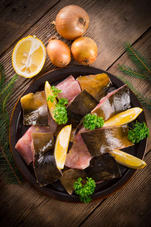 filleted carp Stock Photo - 17133620