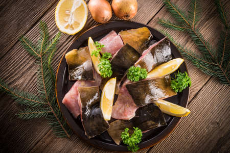 filleted carp Stock Photo - 17335967