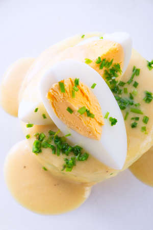 mahonesa: huevos frescos mostaza