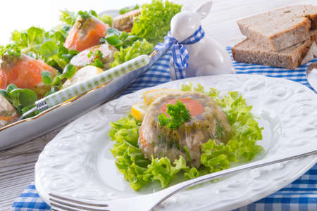 jelly head: meat aspic