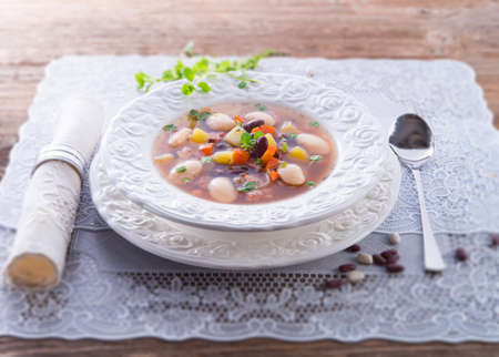 beans soup Stock Photo - 18251531