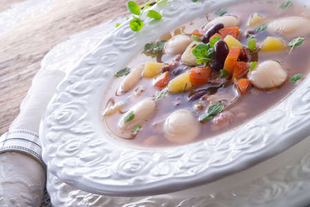 beans soup Stock Photo - 18280308