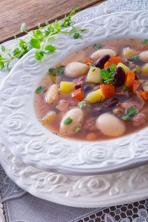 beans soup Stock Photo - 18280315
