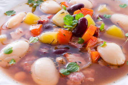 beans soup Stock Photo - 18280325