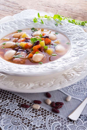 beans soup Stock Photo - 18280327