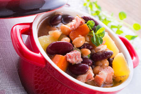 beans soup Stock Photo - 18280321