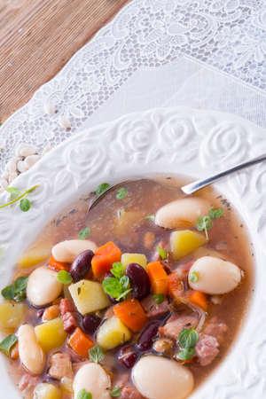 beans soup Stock Photo - 18316539