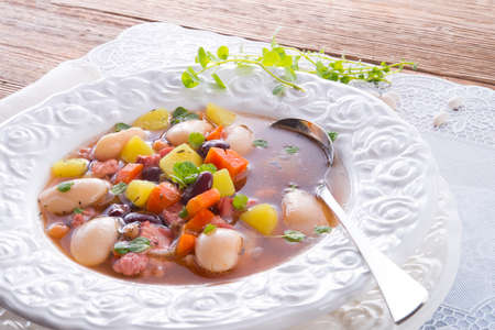 beans soup Stock Photo - 18316533