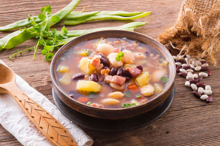 beans soup Stock Photo - 18317007