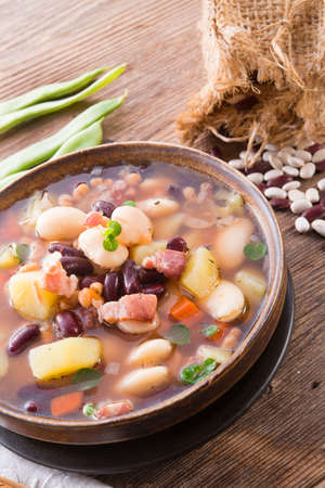 beans soup Stock Photo - 18317001