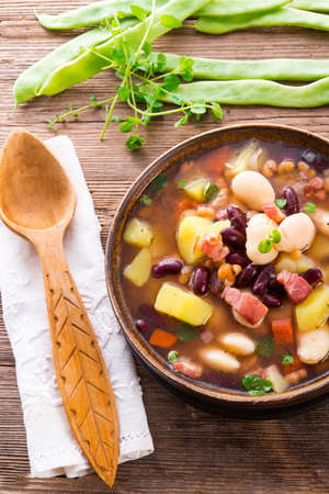 beans soup Stock Photo - 18317008