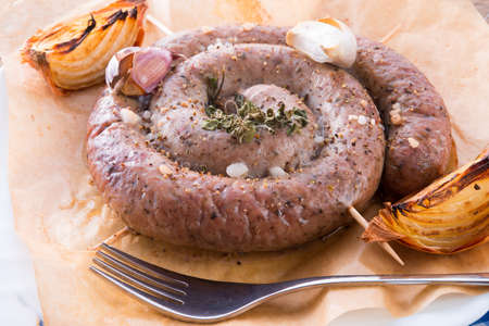 home-baked saucisse photo
