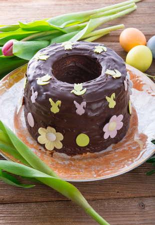 the cooked Babka  cake  photo