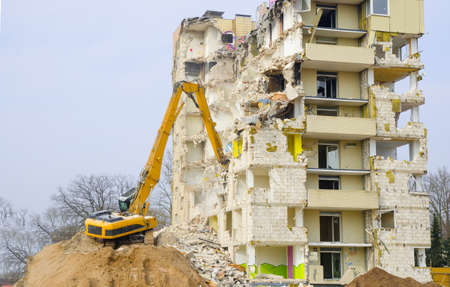 regenerate: Block of flats demolition
