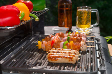 summer grill party  Stock Photo - 21179501