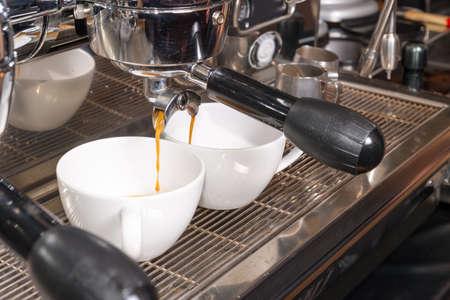 percolate: espresso machine