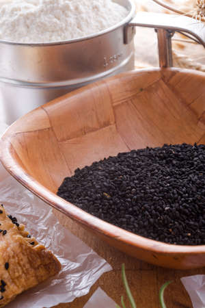 Black cumin  Nigella sativa  photo