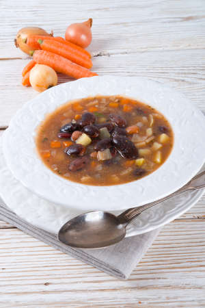 sharp bean soup photo