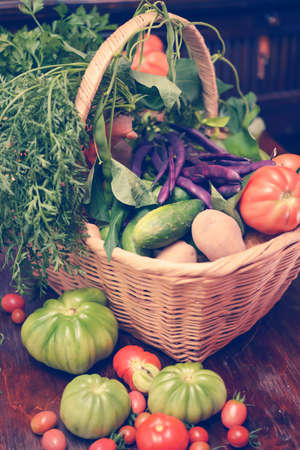Vegetable basket photo