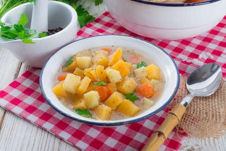 rutabaga: Rutabaga soup