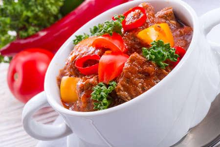 Hungarian goulash photo