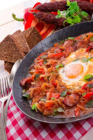 jewish cuisine: SCHAKSCHUKA