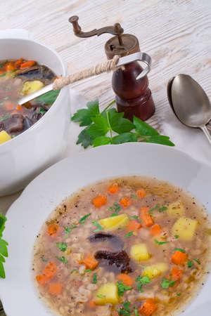 pearl barley: Krupnik – Polish Pearl Barley Soup