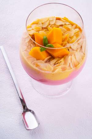 mango fruit cocktail photo