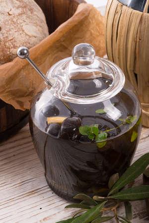 antipasti olives photo