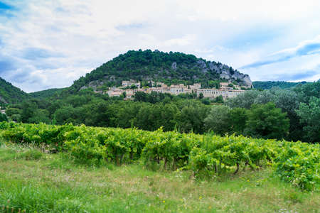 village in provence photo
