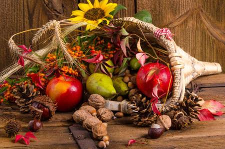 cuerno de la abundancia: Cornucopia