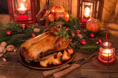 christmas feast: Christmas duck
